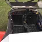 G-MYGN Cockpit of a Chevvron Microlight