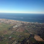 Great Yarmouth from the air 4th Dec 2016